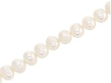 Cultured Freshwater Pearl Appx 6-7mm Potato Shape Bead Strand Appx 15-16