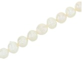 Cultured Freshwater Pearl Appx 8-10mm Potato Shape Bead Strand Appx 15-16