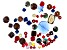 Swarovski ® Indigo Moon Mix in Assorted Shapes and Sizes appx 50 Pieces Total