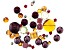 Swarovski ® Festive Fig Mix in Assorted Shapes and Sizes appx 48 Pieces Total