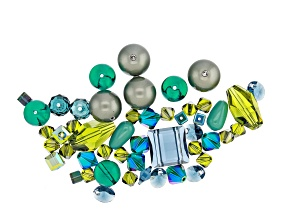 Swarovski ® Midnight Homestead Mix in Assorted Shapes and Sizes appx 50 Pieces Total