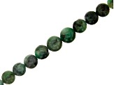 Emerald appx 5-8mm Graduated Round Bead Strand Appx 15-16""