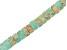 Mardi Gras Stone Appx 6mm Heishi Bead Strand Appx 15-16