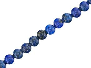 Lapis Lazuli Appx 4mm Round Bead Strand Appx 15-16