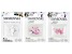 Swarovski® Crystal Bicone Bundle in Pink and White Assorted Colors Appx 75 Pieces