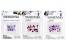 Swarovski® Crystal Bicone Bundle in Purple Assorted Colors Appx 75 Pieces