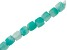 Amazonite Appx 4mm Faceted Square Bead Strand Appx 15-16