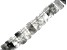 Cloud Quartz Graduated appx 12x9mm-22x11mm Collar Bead Strand appx 17""
