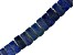 Lapis Lazuli Graduated appx 12x9mm-22x11mm Collar Bead Strand Appx 17