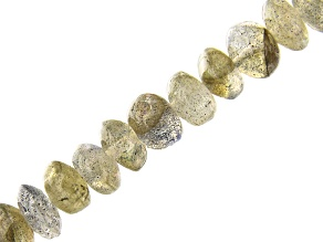 Labradorite Rondelle appx 5-6mm Bead Strand appx 15-16""