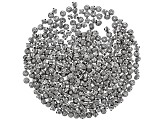 Metal Beads in Antique Silver Tone in 3 Styles 350 Beads Total