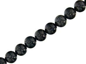 "Black Honduran Opal Round appx 8mm Bead Strand appx 15-16"""