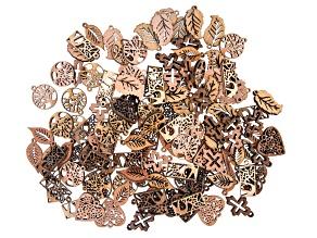 Wooden Focals in Assorted Styles 120 Pieces Total