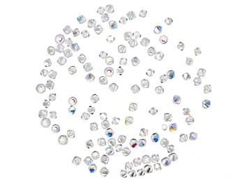 Picture of Swarovski® Crystal AB Bicone appx 3mm Beads 144 Pieces Total