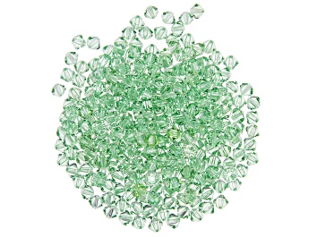 Picture of Swarovski® Crystal Peridot Color Bicone appx 4mm Beads 144 Pieces Total
