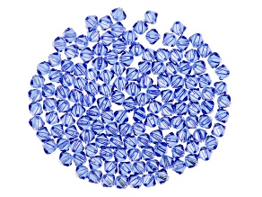 Swarovski® Crystal Sapphire Color Bicone appx 4mm Beads 144 Pieces Total