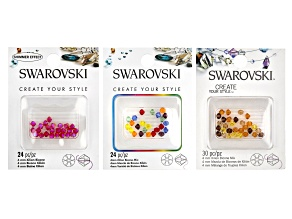 Swarovski® Create Your Style Xilion Bicone in Assorted Colors 78 Pieces Total