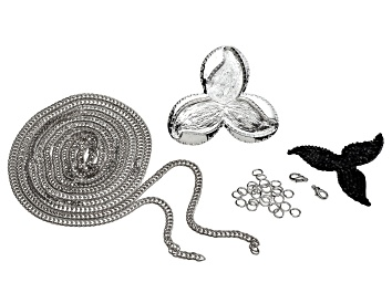 Picture of Tres Jet instant Glam Jewelry Making Kit