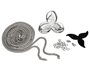 Tres Jet instant Glam Jewelry Making Kit