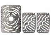 Connector Plates - Antique Silver