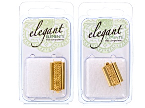 Bead Slides - Gold Plated