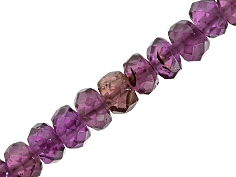 Plum Garnet Faceted Rondelle Beads Appx 2.5-3.5mm Appx 20