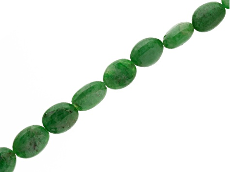 Tsavorite Tumbled Beads Appx 4.5x5mm-8x11mm Strand Apx 14