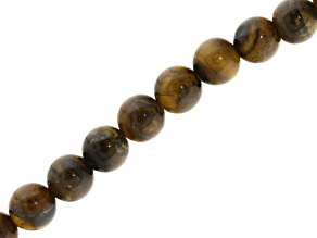 Red Tiger's Eye 6mm Round Bead Strand Appx 15-16