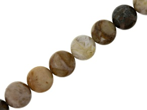 Multicolor Agate 10mm Round Bead Strand Appx 15-16