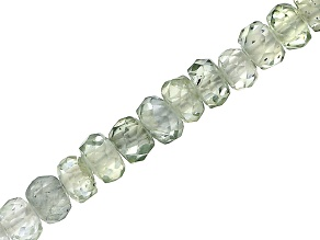 Montana Multi-Color Sapphire 2-3mm Faceted Rondelle Bead Strand Appx 18
