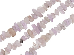 Kunzite chips set of 3 strands appx 32