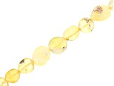 "Nugget Gemstone 10pc Strand Set of Mixed Gemstones appx. 15-16"" each in length"