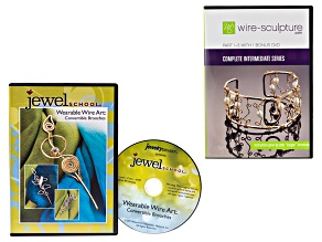 Complete intermediate Series Pt 1-5 W/ Bonus DVD & Wearable Wire Art Brooches DVD Ttl Of 7 DVDs