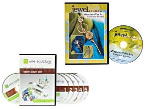 Entire Advanced Series Pt 1-5 W/ Bonus & Wearable Wire Art Brooches DVD Ttl 7 DVDs