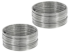 Heavy Duty Memory Wire Bulk Pack includes .036in Large Bracelet Memory Wire 6 Oz Total