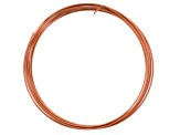 Round Copper Wire Set of 8 in Assorted Gauge Sizes