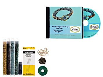 Picture of Petersburg Chain Rope Bracelet Supply Kit and Tutorial CD