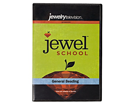 Jewel School® General Beading DVD & Multi-Beryl Round Bead Strand Set of 3 appx 15-16
