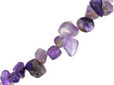 Peacock Cultured Freshwater Pearl & Amethyst Bead Strand Set of 2