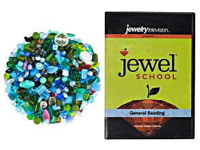 Czech Glass Beads 1lb Bag Of Assorted Shapes in