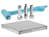 ImpressArt(R) Multi-Function Hammer Kit with 4 Stamp Heads and 4x4