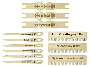 Jewel Goddess Comb Pack of 3, Needle 6 Pack, & Shuttle Pack of 3
