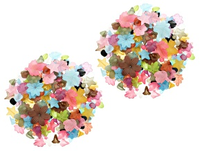1lb Resin Beads in Assorted Shapes and in Various  Colors and Sizes