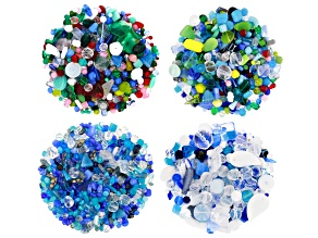 Czech Glass Beads 4lb Bag Of Assorted Shapes