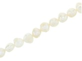 Cultured Freshwater Pearl Appx 7-10mm Potato and Irregular Rondelle Bead Strand Set of 3 Appx 15-16