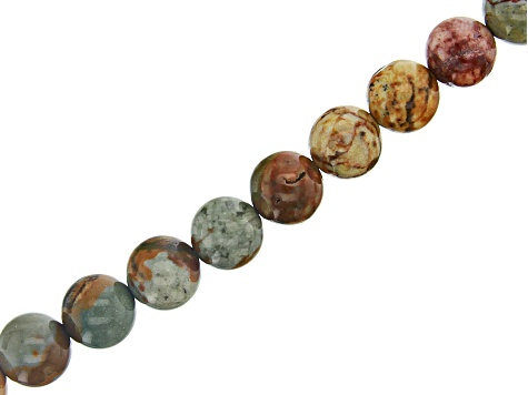 Rocky Butte Jasper appx 4, 6 & 8mm Round Bead Strand Set of 3 appx 15-16