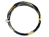 20 Gauge and 22 Gauge Black, Gold Tone, and Silver Tone Multi-Color Wire Appx 55 Feet Total