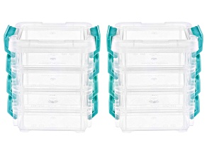 Stackable Organizer Storage Set of 8