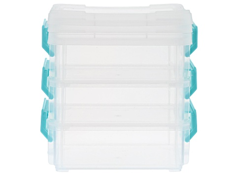 Stackable Organizer Storage Set of 3 and Stackable Organizer Storage Set of 2
