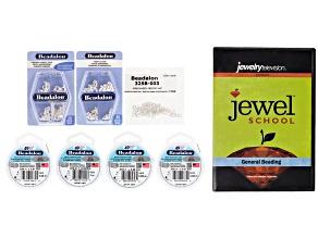 49 Strand Most Flexible Bead Stringing Kit and Jewel School® General Beading DVD